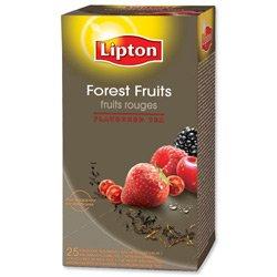 Brand Neu Lipton Früchte Aromatisiert Tee-wald Früchte Ref A04105 [Packung mit 25]