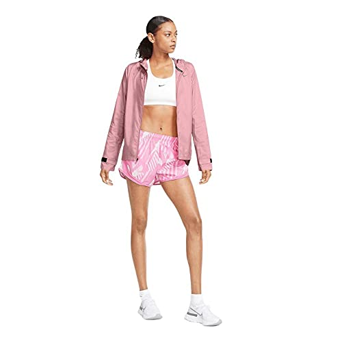 NIKE W Nk Essential Jacket Chaqueta, Pink Glaze/Reflective Silv, extra-small para Mujer