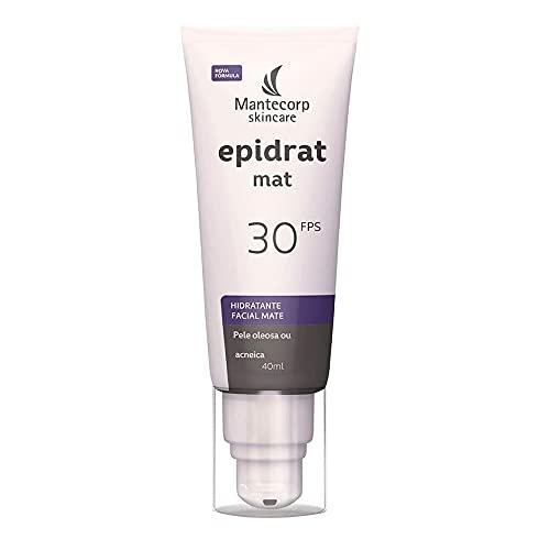 Epidrat Hidratante Facial Mate sem Cor, Mantecorp Skincare