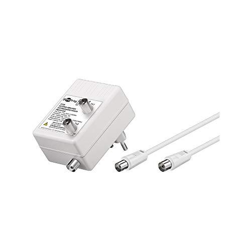 Wentronic 67226 - Amplificador de antena (3 W, 230 V, 50 Hz), blanco