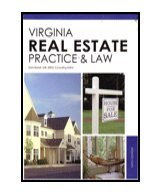 Virginia Real Estate: Practice & Law 1427738270 Book Cover