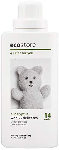 ecostore(エコストア) デリケート&ウールウォッシュ 【ユーカリ】 おしゃれ着 ウール用 洗濯 中性洗剤 500mL