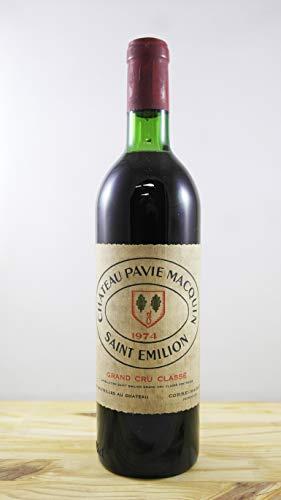 Vino Cosecha 1974 Château Pavie Macquin Botella