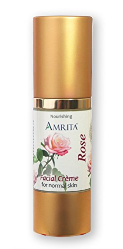 Rose Facial Crème - Blended with Premium Therapeutic Quality Essential Oils of Rose & Roman Chamomile - SIZE: 30ML