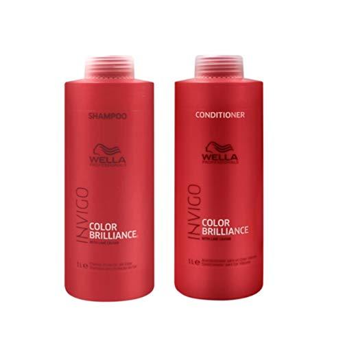 Kit Shampoo e Condicionador Wella Collor Brilliance Invigo