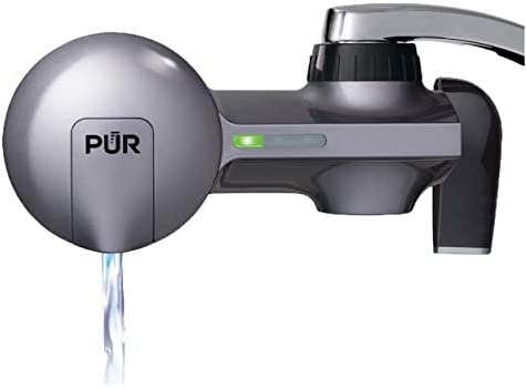 PUR PFM350V Faucet Water Filtration System Horizontal Metallic Grey product image