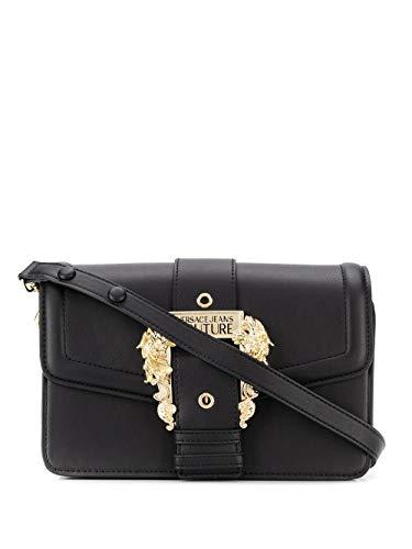 Luxury Fashion | Versace Jeans Dames E1VVBBF171408899 Zwart Kunstleer Schoudertassen | Lente-zomer 20