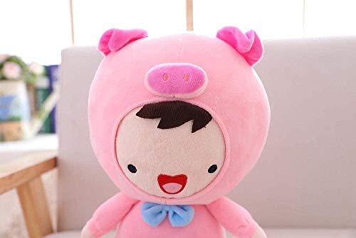 NC56 Transformation Pig Plush Doll Soft Animal Stuffed Cartoon Toys Decoración del hogar Toy Kids Presents (40Cm)