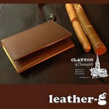 (レザージー) leather-g イギリスが誇る ブライドルレザー(馬具革) ビジネス・メンズ 名刺入れ 【名刺ケース カード・ケース british】 用 mens gift present