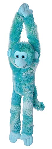 Wild Republic 23081, Hanging Monkey Marmoset Plush toy Stuffed Animal, Gifts for Kids