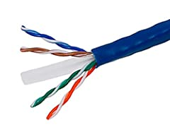 Buy with Confidence: With Monoprice's Lifetime Warranty on all Cables, you can rest assured we stand behind our products and our customers. 100% pure bare copper wire as required by UL Code 444 and National Electrical Code TIA-568-C.2 1000 foot roll ...