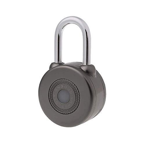 Draadloos elektronisch hangslot, zonder sleutel, bluetooth, afsluitbaar, met app-besturing voor binnendeur, rugzak.