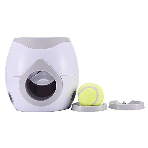 Erfula Futterautomat für Hund & Katze, Hundefutter Ball, Futterspender Interaktives Spielzeug Ausbildung IQ Trainingsball Lernspielzeug Übung Spiel