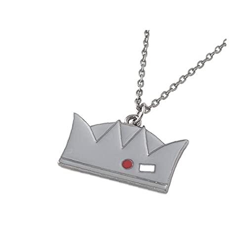 Regalo de la joyería colgante corona 1PC Riverdale mercancía metal collar clásico apoyos de la película Riverdale Jughead Collar Para Hombre Mujeres