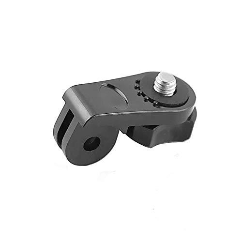Nihlsen Adaptador de conversión Universal Mini Montaje de Tornillo de trípode Fijación Accesorios Gopro para cámara de acción Deportiva Go Pro YI