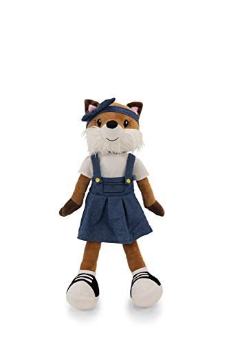 """PLUSHIBLE BRIDGING MILES WITH SMILES Sharewood Forest Friends - Plush Stuffed Animal for Girls and Boys - 18"""" Rag Doll (Fiona The Fox)"""
