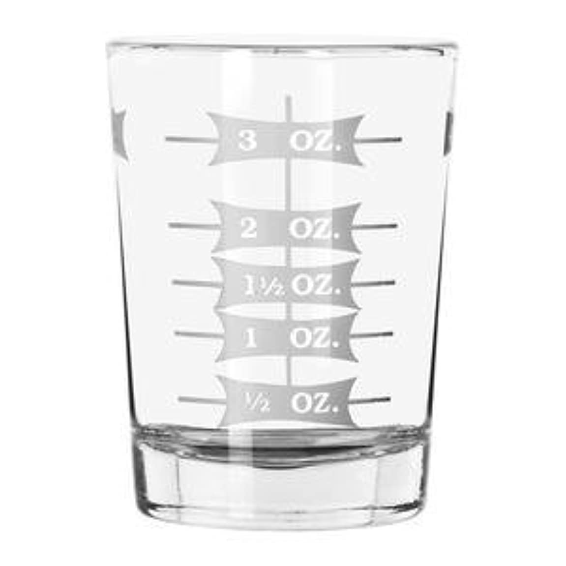 反対したストリップスーツ(2) - Shot Glass, Two - 120ml Professional Measuring Glasses Jiggers (2)
