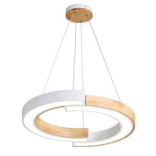 Lámpara Techo Led Moderna Lámpara Colgante Redonda Lámpara de Araña de Estilo Nórdico Lámpara deTecho Salón Comedor...