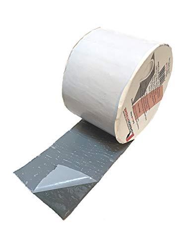 Adhesion Xtreme Roofbond 10mx50mm weiß Reparaturband für Pools, Wohnwagen, Fenster, Dach, - Abdichtband wasserdicht selbstklebend wetterfest