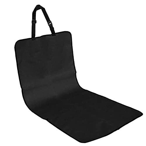 Cojines de asiento delantero de perro, impermeable, para mascotas, universal, mochila sin slip y cubierta de asiento de coche de perro a rayas, para la mayoría de los coches