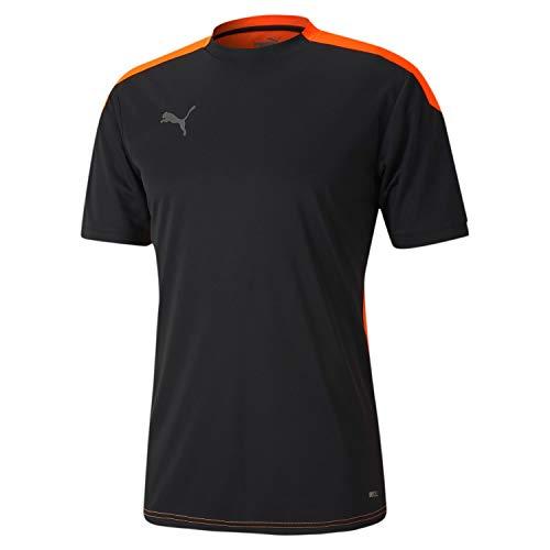 PUMA Herren ftblNXT Shirt T Black-Shocking Orange, L