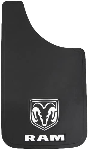 "Plasticolor Dodge Ram Logo Easy Fit Mud Guard 11"" - Set of 2"