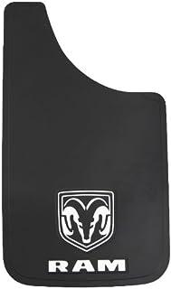 "Plasticolor Dodge Ram Logo Easy Fit Mud Guard 11"" - Set of 2"