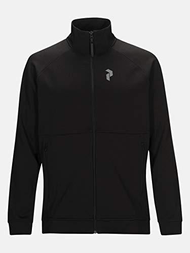 Peak Performance M Pulse Zip Zwart L