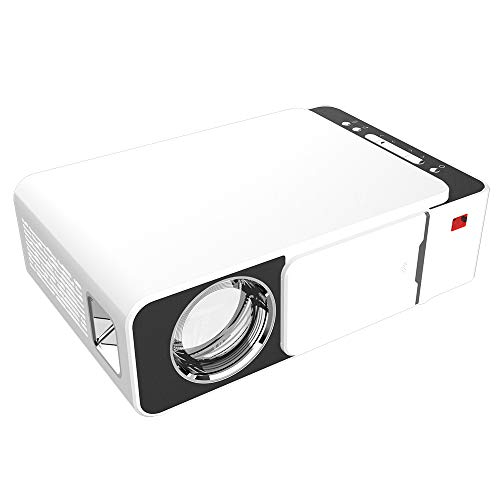Mini proiettore Intelligente, proiettore LED Portatile ad Alta Definizione, proiettore Home Theater, con HDMI, AV, USB, interfaccia VGA, videoproiettore