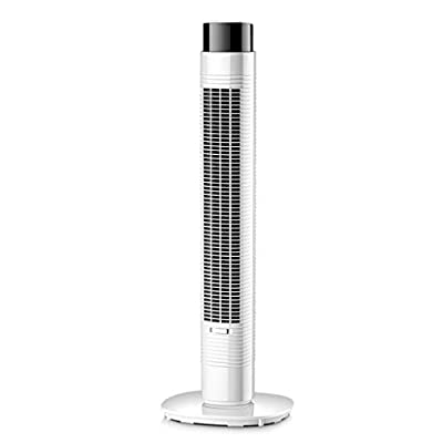 lingyun Tower Fan With Remote Control, Led Screen, 3 Speed, Oscillating, Quiet Operation, 9 Hour Timer With Auto Turn Off, Sleep Setting, Ideal For Home And Office