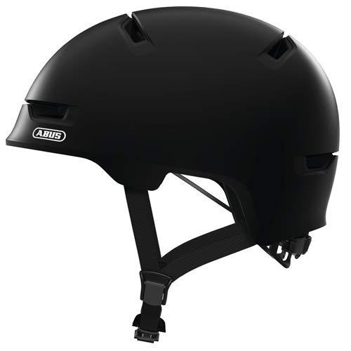 ABUS Unisex-Erwachsene SCRAPER 3.0 Fahrradhelm, Velvet Black, M