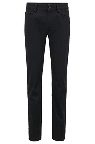 BOSS Herren Delaware BC-C Slim Jeans, Schwarz (Black 002), W32/L32 (Herstellergröße: 3232)
