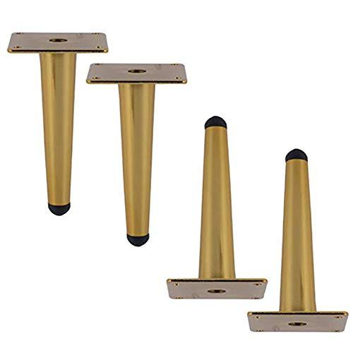 Sofa Beine 4er Pack Möbelfüße Ersatzbeine Universal für Kaffeetisch IKEA Buffets Bett Sideboards Schrank Kommode DIY Möbelbeine