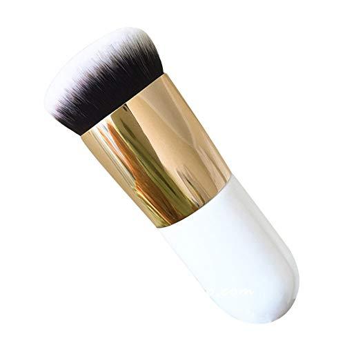 Pinceau à fond de teint pour le visage. Outil cosmétique élégant et populaire