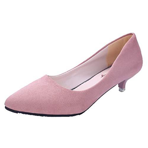 Zapatos Informales de tacón bajo para Mujer, Zapatos de tacón bajo, Zapatos...
