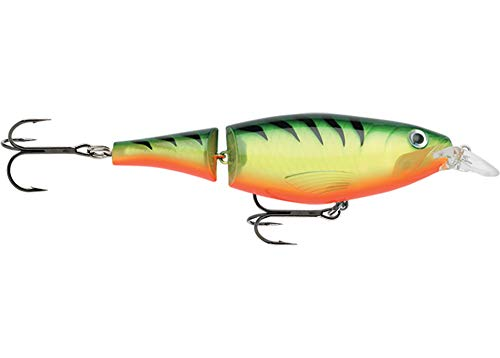 Rapala X-Rap Jointed Shad Lure with Two No. 2/0 Hooks, 1.2-2.4 m Swimming...