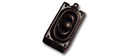 ESU Lautsprecher 20 mm x 40 mm, rechteckig, 4 Ohm, 1 - 2 W, mit Schallkapsel