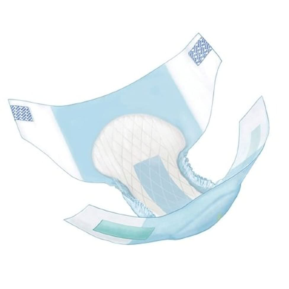 COVIDIEN/MEDICAL SUPPLIES WINGS ADULT QUILTED BRIEFS HEAVY ABSORBENCY Diaper, Quilted, Small, 96/cs