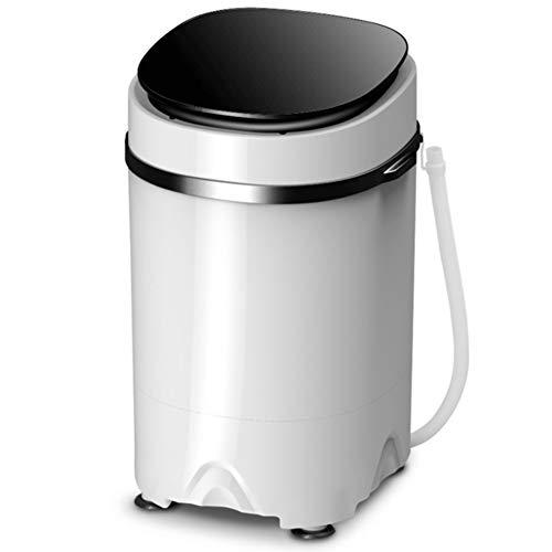 WLL-DP Lavadora portátil para Ropa de bebé Lavandería compacta, Capacidad de 10 LB, Lavadora pequeña compacta con cubeta para Lavadora con Control de Temporizador,Negro