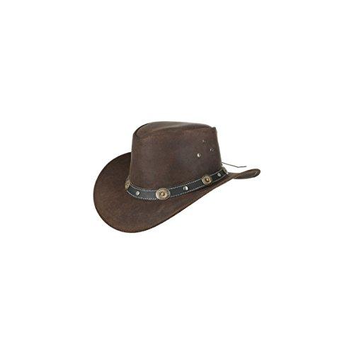 Scippis Rugged Earth Lederhut Cowboyhut Westernhut Tombstone S-XL