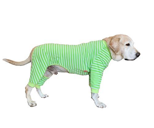 BT Bear - Pijama para perro con cremallera clásica y elástica, protege...