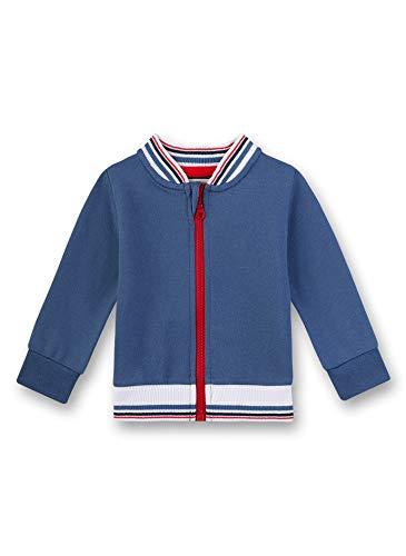 Sanetta Baby-Jungen Fiftyseven Sweatjacke, Blau (Ocean Blue 50315), 86 (Herstellergröße: 086)