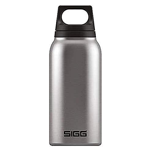 SIGG Hot & Cold Brushed Borraccia termica (1 L), Borraccia acciaio con isolamento sottovuoto priva di sostanze nocive, Borraccia isolante ermetica