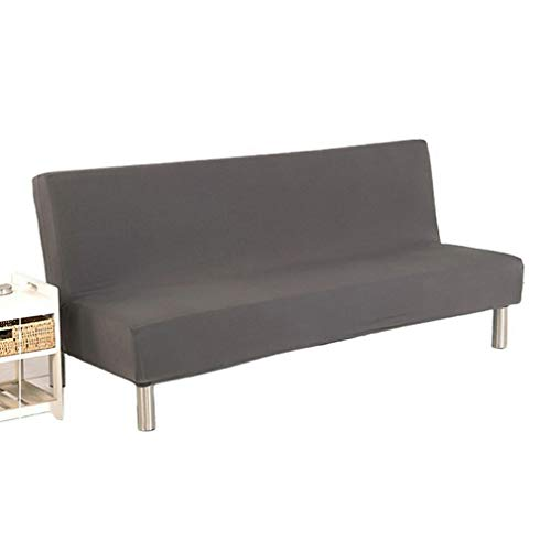 Hanone Home Sofabezug Full-Inclusive Sofabezug ohne Armlehne Einfarbiger SofabezugGray