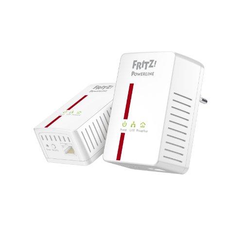 AVM FRITZ Powerline 500E Set (500 Mbit/s, Gigabit LAN)