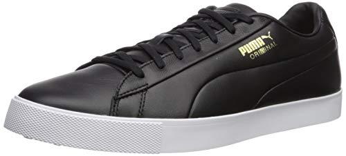 PUMA Golf Men's OG Golf Shoe, Black Black, 12 Medium US