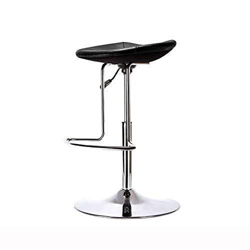 QIDI Tabouret De Bar Contre-chaises Réglable en Hauteur Antidérapant Doux pour Accueil Cuisine Table À Manger Café Bar