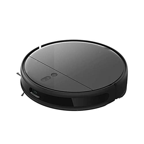 Ramingt Aspiradora para suelo de robot aspirador versión Exploración App WiFi negro Robot aspirador antigoteo casa
