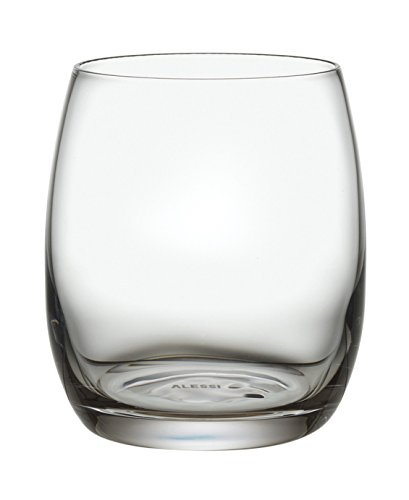 Alessi SG119/41S2 Mami XL Bicchiere per Acqua, Vetro Cristallino, Trasparente