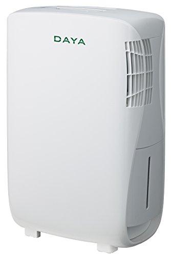 Daya Home Appliances DDM-16N3, Deumidificatore con capacità tanica 3 litri, Capacità deumidificazione 16 litri / 24 ore, Colore Bianco